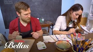 Bryan takes Nikki to a pottery class: Total Bellas Bonus Clip, Oct. 19, 2016