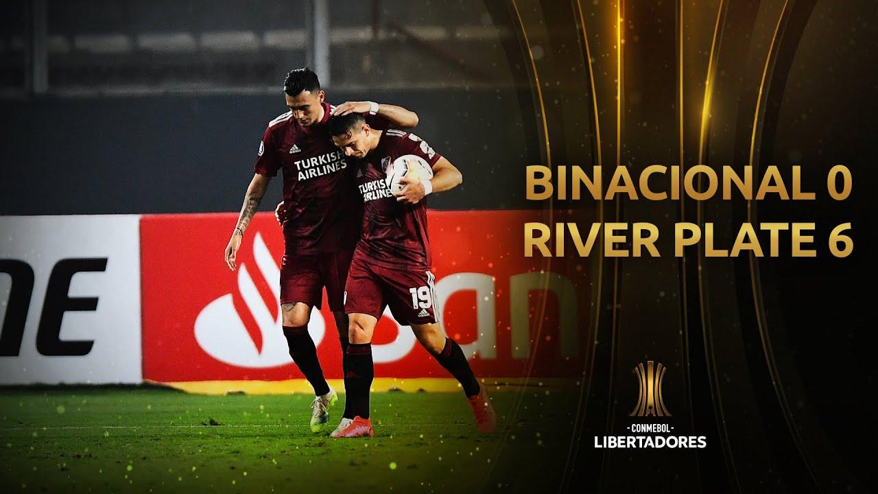 Binacional vs. River Plate [0-6]   RESUMEN   Fase de Grupos   Jornada 4   Libertadores 2020