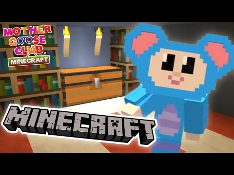 Mother Goose Club Minecraft | Ep 5 | Eep and the Secret Room | Hidden Iron Man Costume