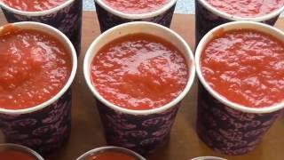 Томатная паста Заморозка  овощей. Рецепт томатной пасты