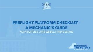 Preflight Platform Checklist - A Mechanic's Guide - Kevin Rutten & Chris Weibel, Stark & Wayne