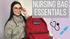 NURSING BAG ESSENTIALS | WHAT'S IN MY WORK BAG | The best pens ever?
