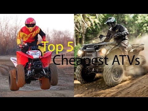 Top 5 Cheapest ATVs