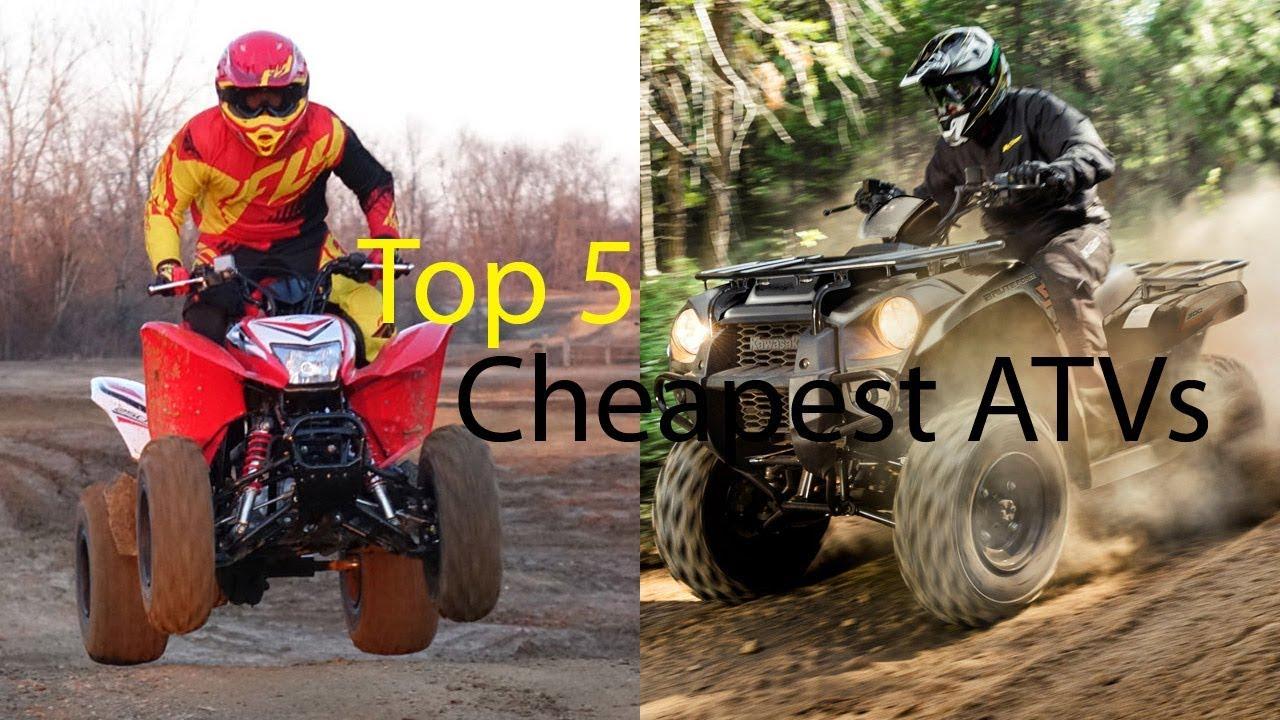 Top 5 Cheapest ATVs - Dauer: 2 Minuten, 46 Sekunden