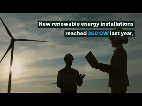 In 2020, the world installed more new renewable energy than ever