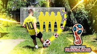 WORLD CUP GARDEN FOOTBALL CHALLENGES!!!