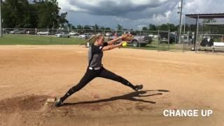 Shaelyn Sanders c/o 2020 Pitcher/Shortstop Softball Skills Video