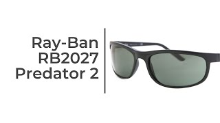 Ray-Ban RB2027 Predator 2 Sunglasses Review