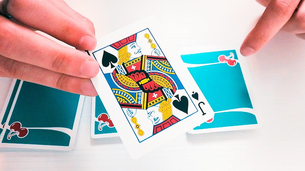 very easy magic trick with cards explained  youtube