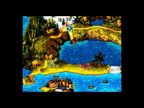 DKC3 (SNES) (105%) / 05. World 5: K3 [1080p@60]