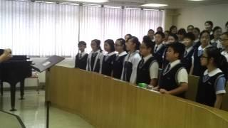 顯理中學合唱團堅浸獻唱最後練習