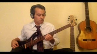 She Makes my Day   Robert Palmer   Bass Cover