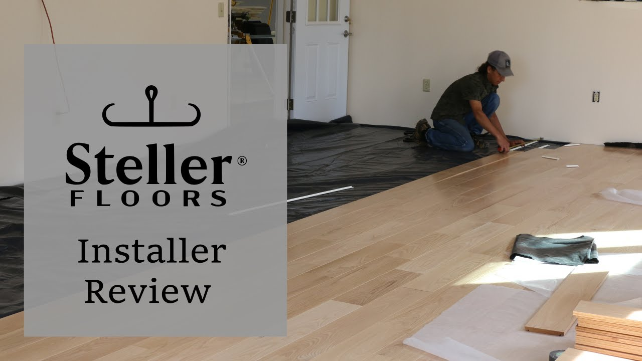 Steller Floors Installer Review; Lewistown, PA