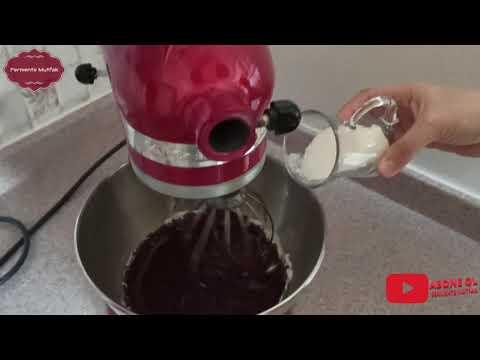 fasulye-unlu-brownie-yapımı---fasulyeleri-kitchenaid-değirmen-aparatıyla-Öğüttük...