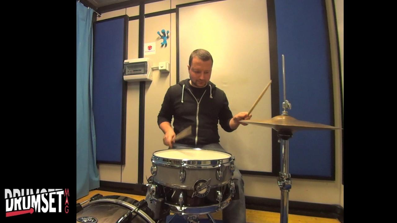 gretsch retro luxe snare drum test youtube
