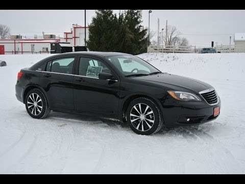 2014 chrysler 200 touring s sedan black for sale dayton troy piqua sidney ohio 26911 youtube. Black Bedroom Furniture Sets. Home Design Ideas