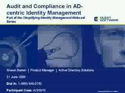 Audit and Compliance in AD-centric Identity Management - Audit and Compliance in AD-centric Identity Management
