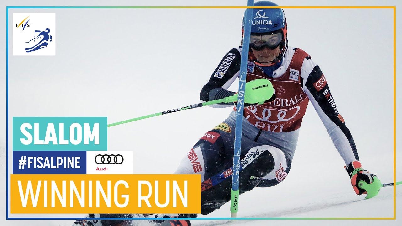 Petra Vlhova Wins Second Slalom of the Season in Levi