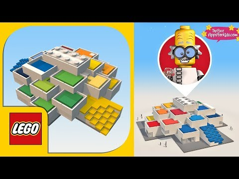 LEGO House App 🏠 All Rooms of the Lego House in Bilund Denmark - Free App for Kids