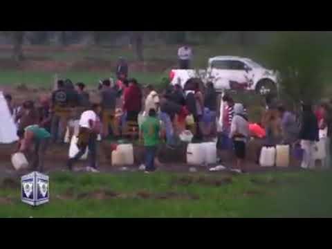 Así fue la tragedia de los Huachicoleros de Tlahuelilpan, Hidalgo