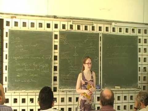"Pia Wojtinnek: ""Semantic Wikipedia networks"""