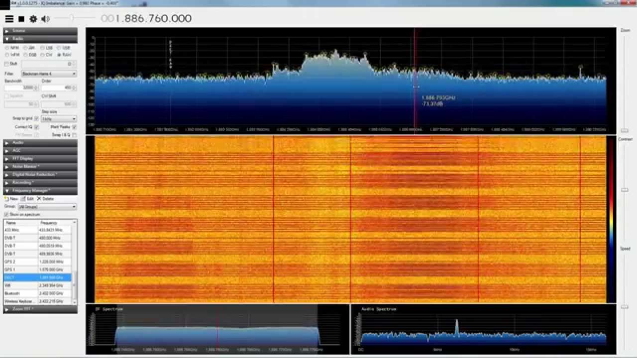 First Steps with HackRF One