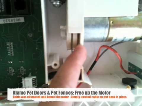 Hi Tech Pet Door Troubleshoot