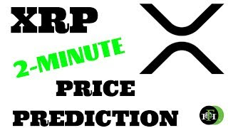 XRP RIPPLE 2-MINUTE PRICE PREDICTION (MORE DOWNSIDE TO COME?)