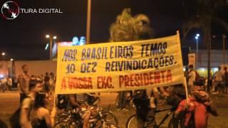Manifestação em Valparaíso de Goiás | Cultura Digital Produções |