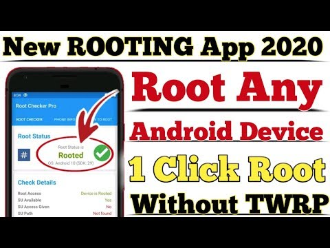 New ROOTING APP 2020 | ROOT Any Android Device With 1 Click | Without TWRP Without PC |