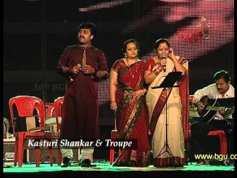 Kasturi Shankar at the 50th Bengaluru Ganesh Utsava
