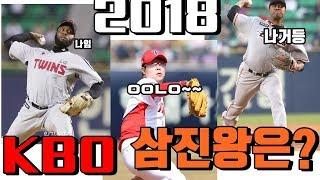 2018 KBO리그 삼진왕은 누구? (3월 24일~7월7일 중 순위 선정)