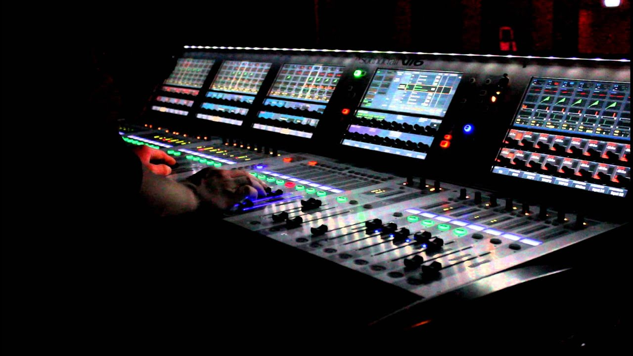 Soundcraft VI6  work  YouTube