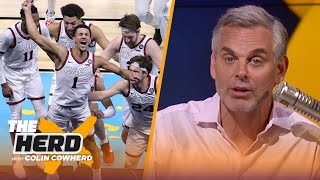 Gonzaga is a David turned Goliath story, talks Jalen Suggs' buzzer-beater - Colin | NCAA | THE HERD