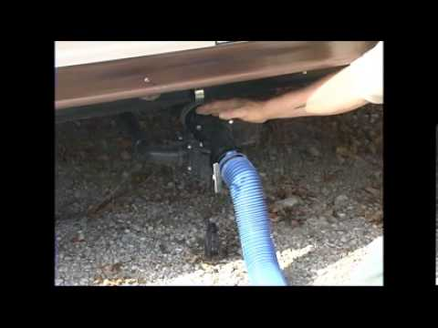 Rv sewer hookup at home