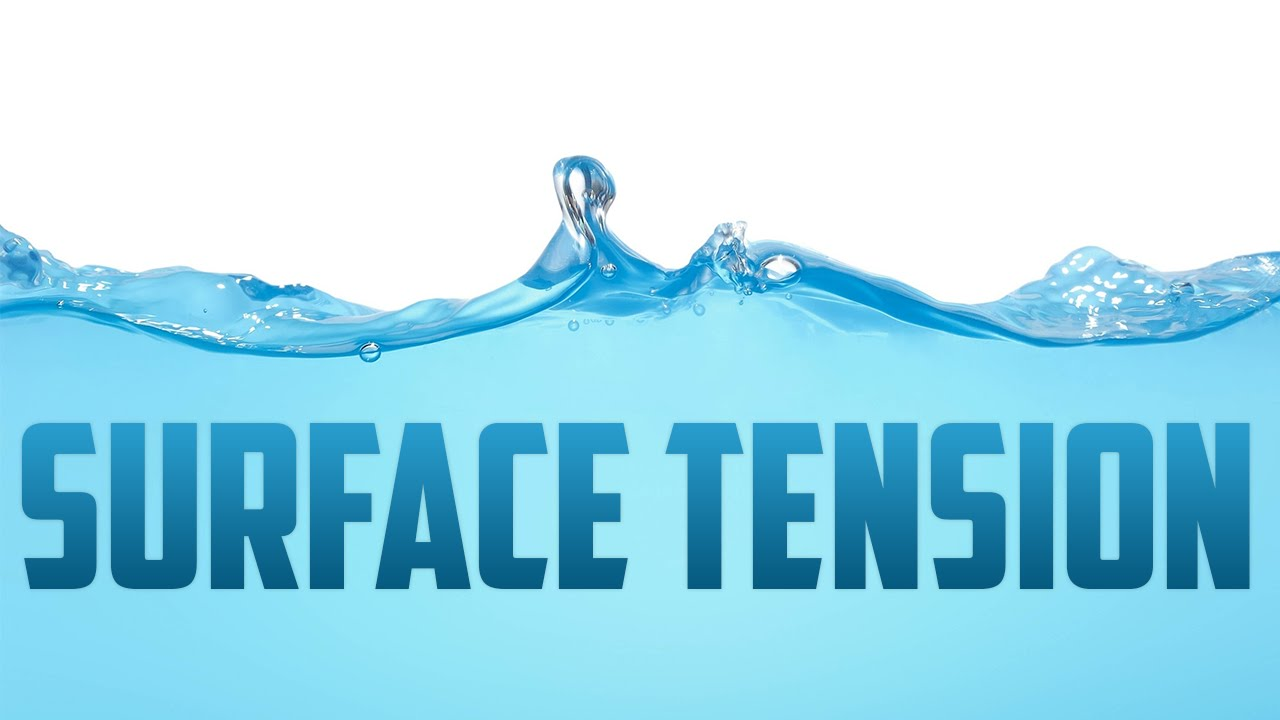 how does surface tension work
