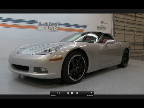 2005 Chevrolet Corvette Start Up, Exhaust, Short Drive, and In Depth Performance Review