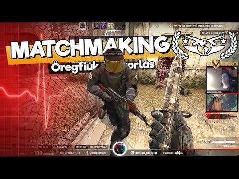 VIGYÁZAT EYE TRACKER!!!  Öregfiúk gyakorlás de_cache-en