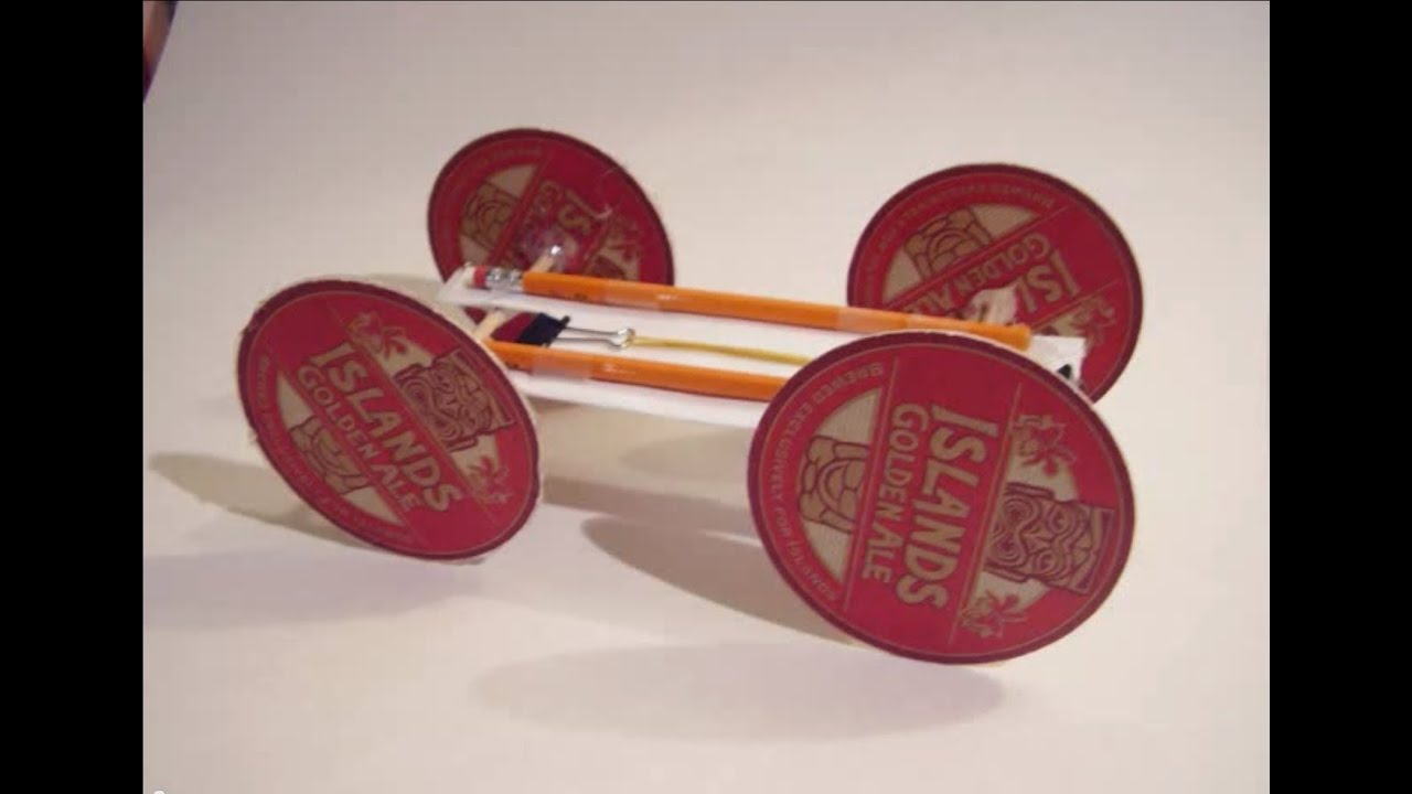 Rubber band car youtube rubber band car malvernweather Image collections