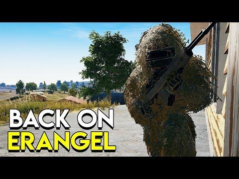 BACK ON ERANGEL - PlayerUnknown's Battlegrounds (PUBG)