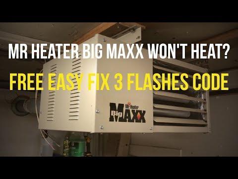 Quick Fix Mr. Heater Big Maxx [Won't Ignite]