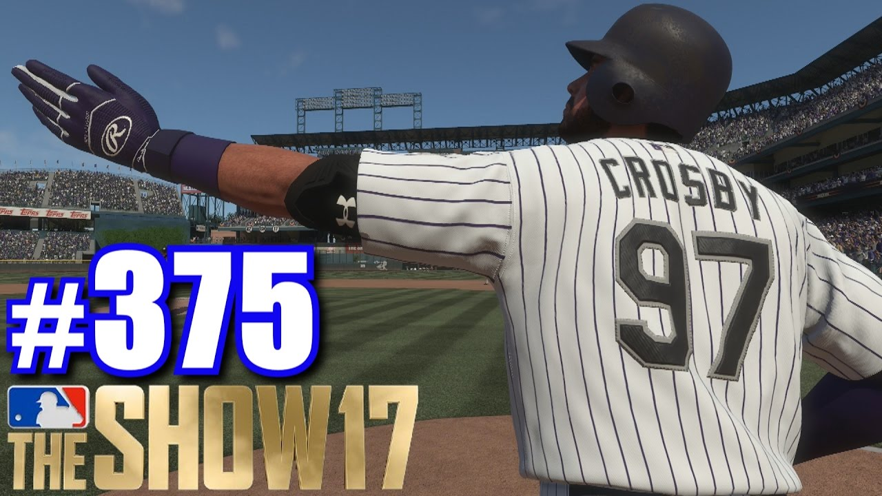 foot home run mlb  show  road   show  youtube