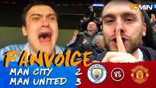 Pogba and Smalling Score to complete Man United Comeback! | Man City 2-3 Man United | 90min FanVoice