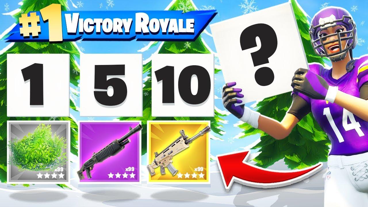 RANDOM Scoreboard CHALLENGE *NEW* Game Mode in Fortnite Battle Royale