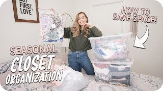 Closet Organization! Space Saving Tips + More!