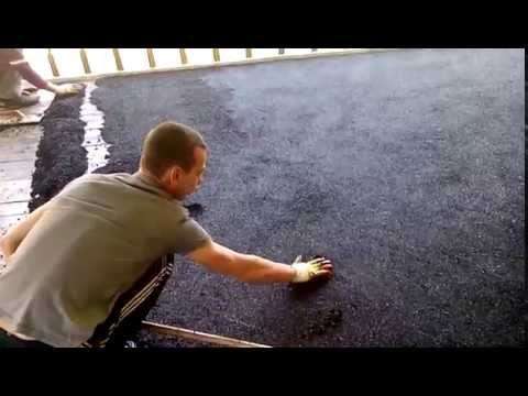 Укладка резинового покрытияиз YouTube · Длительность: 1 мин3 с