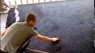 Нанесение резинового покрытия