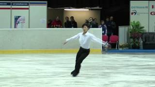 19 Keiji TANAKA (JPN) - ISU JGP Czech Skate 2013 Junior Men Free Sk...