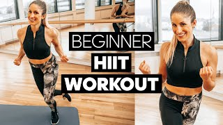 HIIT Workout for Beginners: 10 Min. Total Body (Collab with SarahFit)