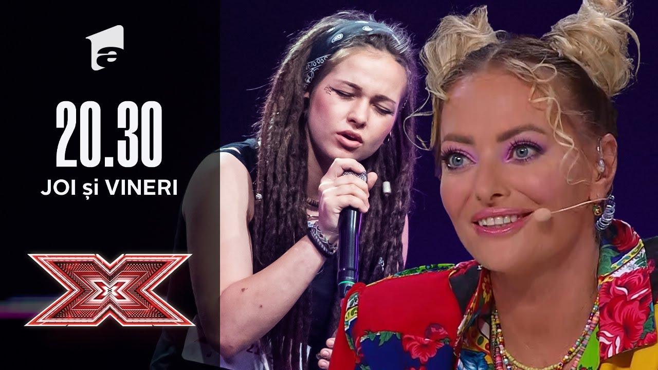 Voce bună, vibe pozitiv! Andreea Dobre a venit la X Factor cu o piesă în stil Reggae